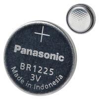 Panasonic BR1225 3V Lithium Battery 2PACK X (5PCS) = 10 Single Use Batteries