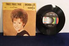Brenda Lee, Truly Truly True / I Still Miss Someone, Decca Records 31762, 1965