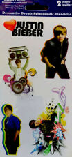 "Justin Bieber Stickers (11 DIFFERENT STICKERS TOTAL 2 SHEETS) ""AMAZING ARTIST.!!"