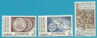España De 1976 Perfecto Estado MiNr.2212-2214-2000 Años Zaragoza