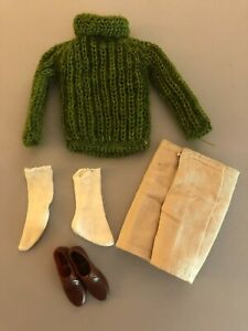 #1412 Hiking Holiday 1965 outfit For Ken Doll Vintage Barbie boyfriend