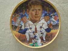 "MICKEY MANTLE "" GREATEST SWITCH HITTER "" Sports Impressions Gold Edition Plate"