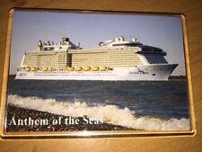 Royal Caribbean ANTHEM OF THE SEAS Large Fridge Magnet Cruise Ship Southampton a