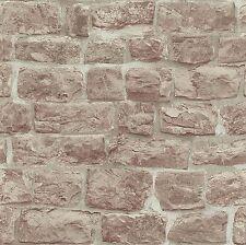 Erismann Carta Da Parati-Beige Rustico mattoni/muro di pietra-Lusso Con Texture -5818-11