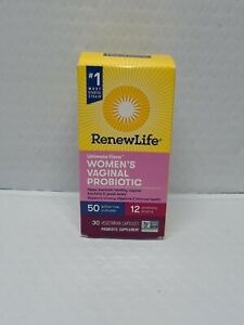Renew Life Ultimate Flora Women's Vaginal Probiotic 50 Billion  exp7/22#165