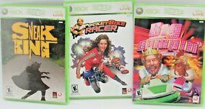 XBOX 360 Burger King 3 New Games Pocket Bike Racer Sneak King Big Bumpin'