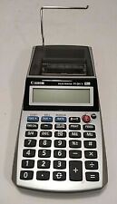 Canon Palm Printer P1-Dh V Calculator 12 Digit No Adapter business tax add