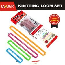 Spool Long Knitting Loom Set With Hook Needle Kit for Yarn Cord KNITTER