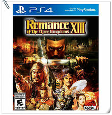 PS4 三國志13 中文版 / Romance of the Three Kingdoms XIII ENG SONY Strategy Games Koei