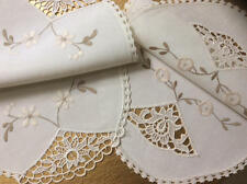 French Lace Antique Linens