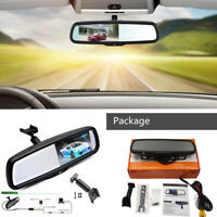 "With 1# Original Bracket Car Interior Rear View Mirror 4.3"" TFT LCD Monitor"