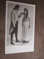 Early Postcard - Forbes Robertson & Gertrude Elliott  -Edwardian Actress / Actor