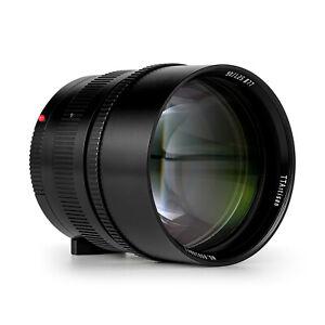 TTartisans 90mm F1.25 Full Frame Lens for Leica M-mount M2 M3+2-in-1 Lens Hood