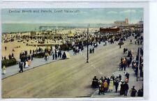 (Ga4254-100) Central Beach & Parade, GREAT YARMOUTH c1910 EX