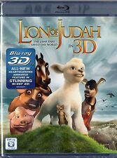 The Lion of Judah ( 2DBlu-ray Disc, 2012, 3D)   BRAND NEW  Animated Childrens