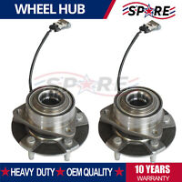 2 Front Wheel Hub & Bearing for Chevy Equinox Pontiac Torrent Vue w/ ABS 513189