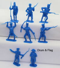 JECSAN Original Moulds - Napoleonic French Infantry & Napoleon. 70mm. 8 Poses