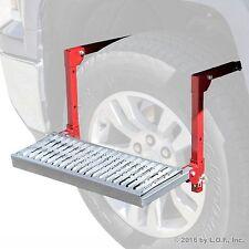 Tire Wheel Step Truck SUV Up Adjustable Folding Non Slip Ladder 300lb Platform