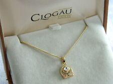 Clogau 9ct Yellow & Rose Gold Origin White Topaz Pendant RRP £540.00