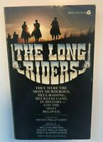 1980 THE LONG RIDERS PBO MOVIE TIE IN Keach Carradine  1st PRINTING PAPERBACK