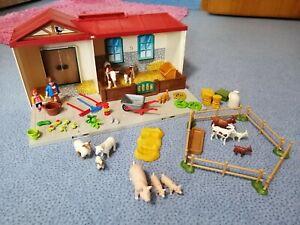Playmobil 4897 - Mitnehm-Bauernhof mit Extra-Zubehör