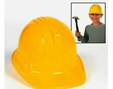 12 Yellow Plastic Construction or Builders Party Hats Bob the Builder