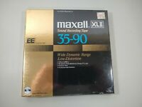 Maxell XLII 35-90 Position EE Reel To Reel Tape 1800ft New NOS Sealed
