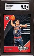 2018-19 DONRUSS THE ROOKIES TRAE YOUNG RC SGC 9.5