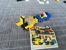 ⚡⚡ [LEGO-652] - Legoland Fork Lift Truck and Trailer 100% Complet avec Notice ⚡⚡