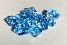 Beautiful Blue Frozen Ice Crystals Lot of 10