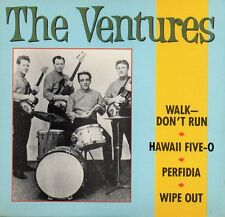 "★☆★ CD SINGLE The VENTURES	Walk Don't Run - 4-TRACK CARD SLEEVE CD3"" 1988    ★☆★"