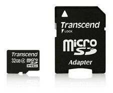 Transcend Micro SD HC 32GB Memory with Adapter for Samsung S2, S7 Edge