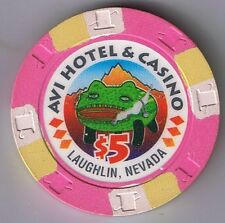 Avi Hotel $5.00 Frog Casino Chip Laughlin Nevada