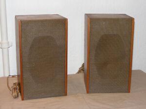 SABA Paar Lautsprecher BOXEN