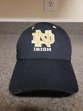 Notre Dame Fighting Irish Official NCAA Hat Cap Navy Blue Adjustable
