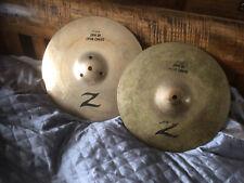 Zildjian 13 Z Dyno Beat hi hat cymbals  great condition