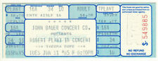 Robert Plant *Rare*1985 Tacoma Dome Concert Ticket Vtg led zeppelin rock metal