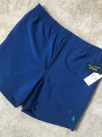 RALPH LAUREN POLO NAVY CLASSIC SRL PREPSTER SWIMSHORTS SHORTS - M - NEW & TAGS