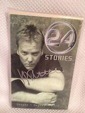 Keifer Sutherland 24 Stories Autographed Signed TP JC Vaughn Mark L Haynes Clark
