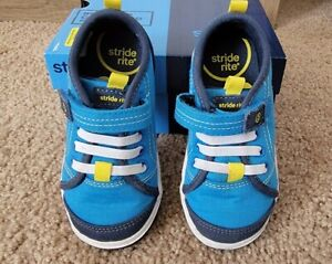 STRIDE RITE Toddler Shoes Sneakers Blue Size 7 M  Boys BB57077