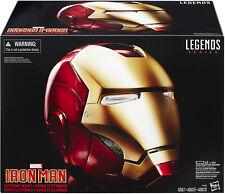 Hasbro Marvel Legends Avengers Iron Man Electronic Helmet Life Size Prop Replica