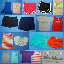16 Piece Lot of Nice Clean Girls Size 7 Spring Summer Everyday Clothes ss269
