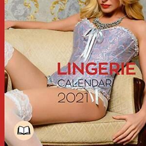 "Lingerie Calendar 2021: Calendar ""Booklet"" and Notebook, Fast Shipping New"