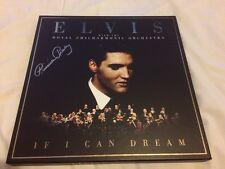 ELVIS PRESLEY IF I CAN DREAM DELUXE CD VINYL BOX SET SIGNED PRISCILLA PRESLEY