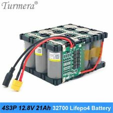 Lifepo4 Battery Pack 4S3P 12.8V 21Ah with 4S 40A Balanced BMS for Electric Boat