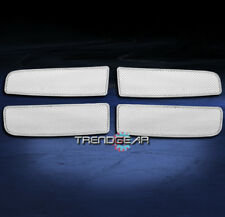 2002-2005 DODGE RAM 1500 2500 3500 UPPER STAINLESS STEEL MESH GRILLE CHROME 4PCS