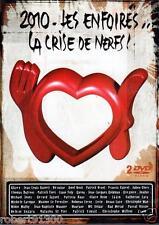 D.V.D./...LES ENFOIRES, LA CRISE DE NERFS..../...2 DVD..../...2010.......