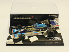 1/43 MINICHAMPS MCLAREN FORD M26 1978 USA GP EAST # 8 PATRICK TAMBAY 530 784398