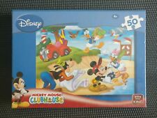 Disney Channel Kids Jigsaw Puzzle - Mickey Mouse Club House - 50 Pieces - New