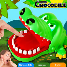 Crocodile Dentist Bite Finger Game Animal Croco Novelty Teeth Toy For Kids Gift